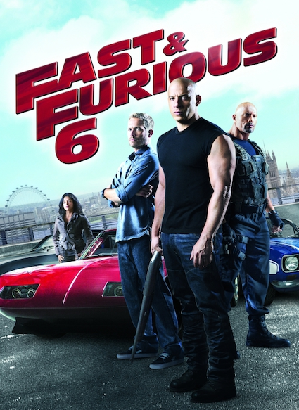 Affiche du film FAST AND FURIOUS 6